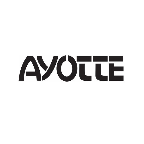 Ayotte Ayotte Black Bass Drum Logo