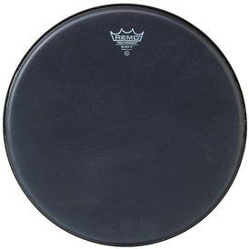 "Remo Remo Black x 14"" Diameter Batter Drumhead - Black Dot Bottom"