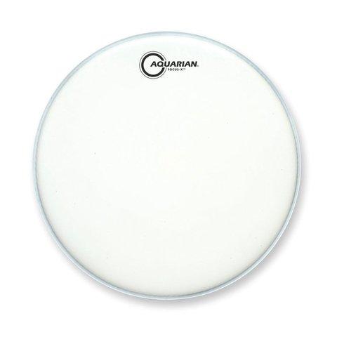 "Aquarian Focus-X Texture Coated 12"" Drumhead - White"