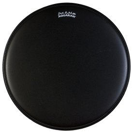 "Aquarian Aquarian Jack DeJohnette Thick Coated 8"" Drumhead - Black"