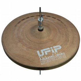 "UFIP UFIP Natural Series 13"" Heavy Hi Hat Cymbals"
