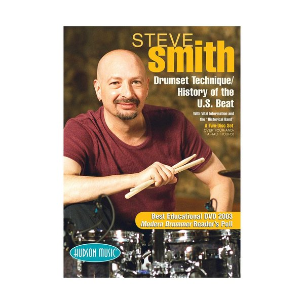Hal Leonard Steve Smith: Drum Set Technique / History of the U.S. Beat DVD