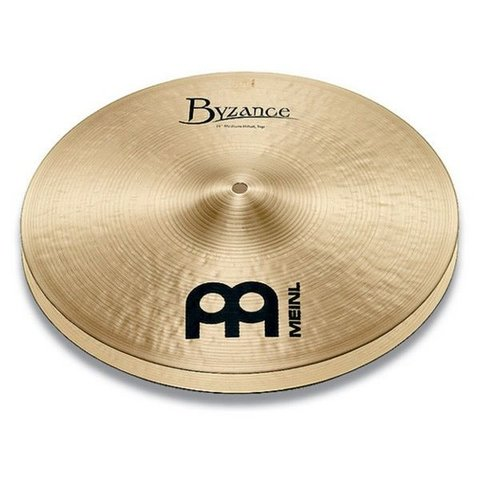 """Meinl Byzance Traditional 14"""" Thin Hi Hat Cymbals"""