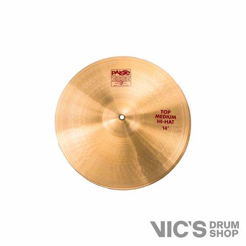 "Paiste 2002 Classic 14"" Medium Hi Hat Cymbals"