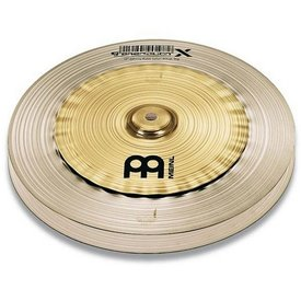 "Meinl Meinl Floor Model Generation X 12"" Johnny Rabb Safari Hi Hat Cymbals"