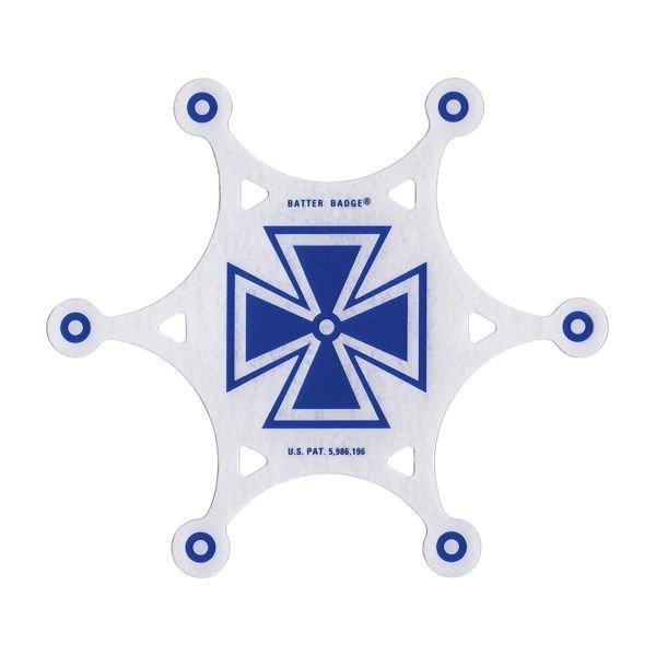 Slug Slug Batter Badge Armourphragm Vented Impact Pad; Blue Baron Graphic