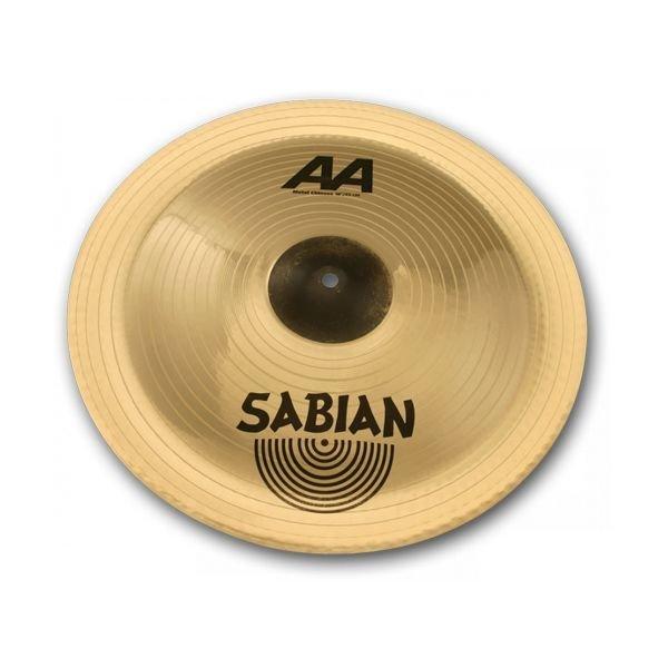 "Sabian Sabian AA 18"" Metal-X Chinese Cymbal Brilliant"