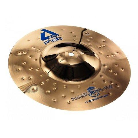 "Paiste Alpha 12"" Powerslave Boomer Splash Cymbal"