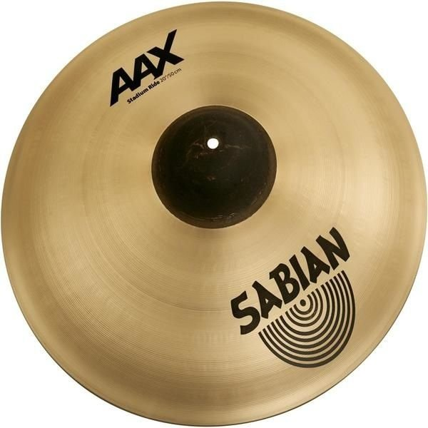 "Sabian Sabian AAX 20"" Stadium Ride Cymbal Brilliant"