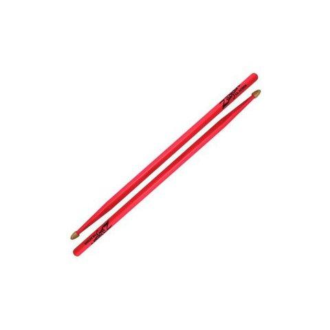 Zildjian 5A Acorn Neon Pink Wood Tip Drumsticks