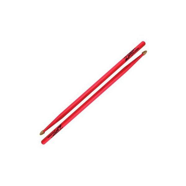 Zildjian Zildjian 5A Acorn Neon Pink Wood Tip Drumsticks