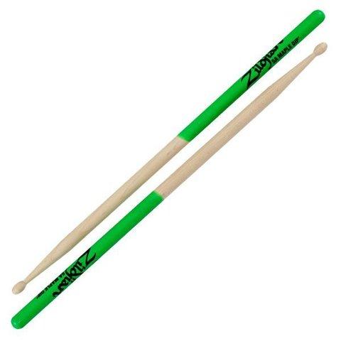 Zildjian 5A Dip Series Maple Green Drumsticks