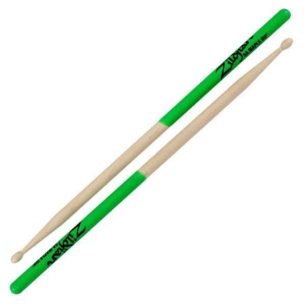 Zildjian Zildjian 5A Dip Series Maple Green Drumsticks