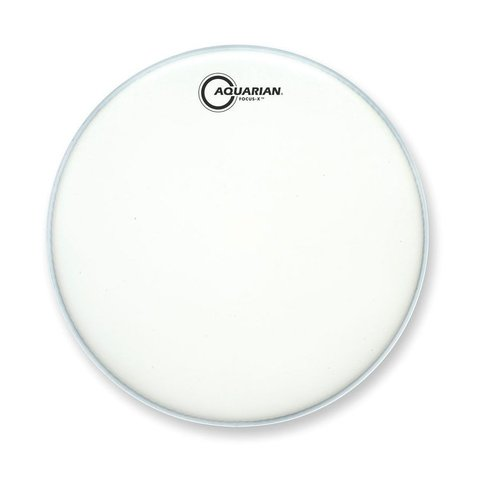 "Aquarian Focus-X Texture Coated 14"" Drumhead with Reverse Pad"