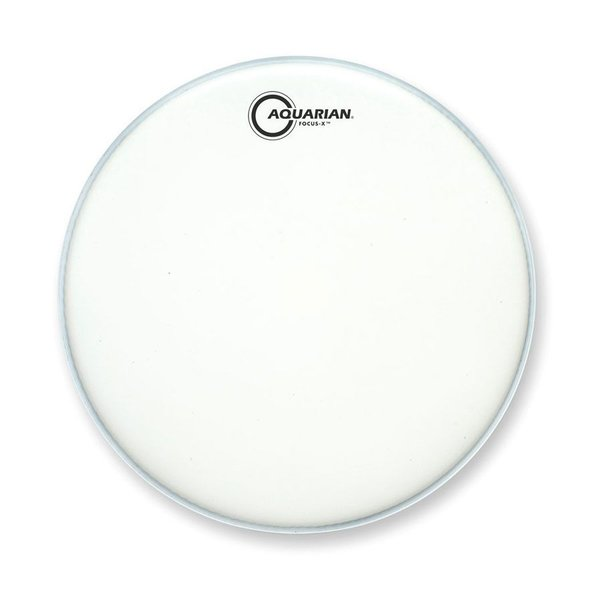 "Aquarian Aquarian Focus-X Texture Coated 14"" Drumhead with Reverse Pad"