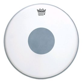 "Remo Remo Coated Emperor x 14"" Diameter Batter Drumhead - Black Dot Bottom"