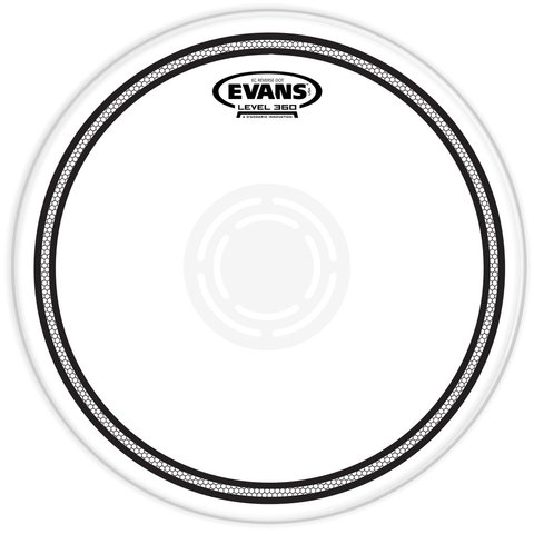 "Evans EC2 Reverse Dot 10"" Snare Drumhead"