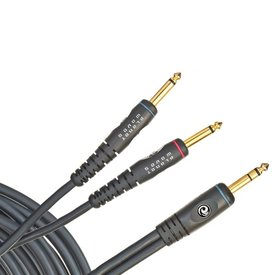 "Planet Waves Planet Waves 10 ft. Stereo 1/4"" to Dual Mono 1/4"" Instrument Cable"