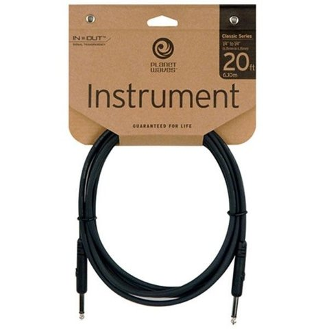 "Planet Waves 20 ft. 1/4"" Classic Series Instrument Cable"