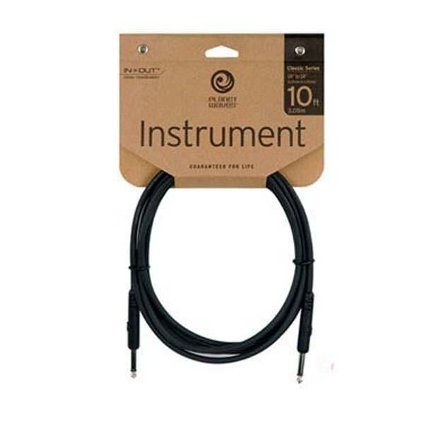 "Planet Waves Planet Waves 10 ft. 1/4"" Classic Series Instrument Cable"