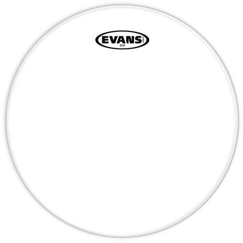 "Evans G12 Clear 12"" Drumhead"