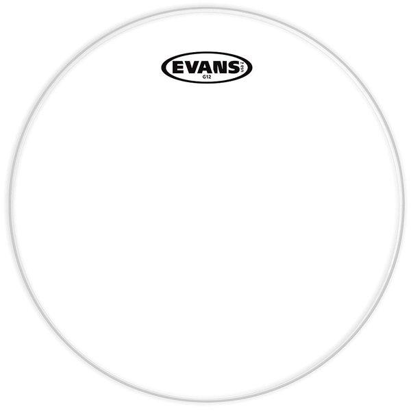 """Evans Evans G12 Clear 13"""" Drumhead"""