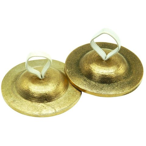 Sabian Finger Cymbals With Pouch - Heavy