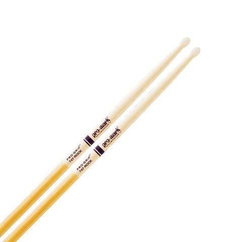 Promark Hickory 747 Pro-Grip Nylon Tip Drumsticks