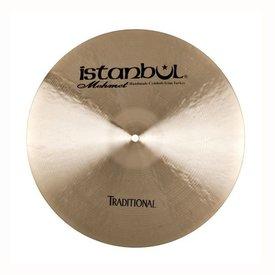 """Istanbul Mehmet Istanbul Mehmet Traditional Series 18"""" Dark Crash Cymbal"""
