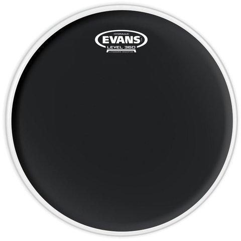 "Evans Hydraulic Black 16"" Tom Drumhead"