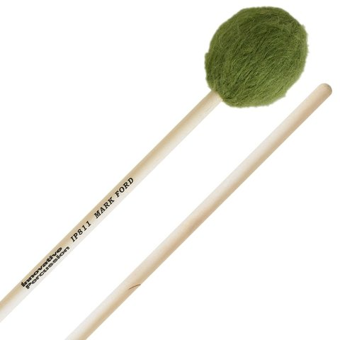 Innovative Percussion Strong Legato Soft Marimba - Green Yarn - Birch