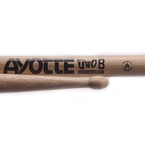 Ayotte Two B Hickory Wood Tip drumsticks