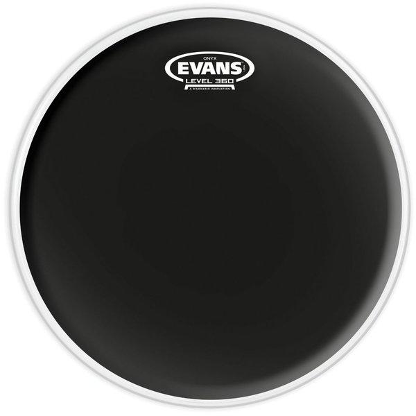 """Evans Evans Onyx Coated 12"""" (2-Ply) Drumhead"""