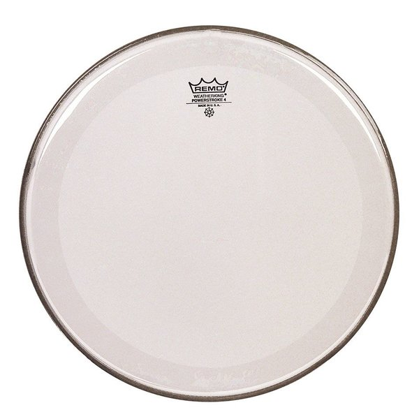 "Remo Remo Clear Powerstroke 4 14"" Diameter Batter Drumhead"