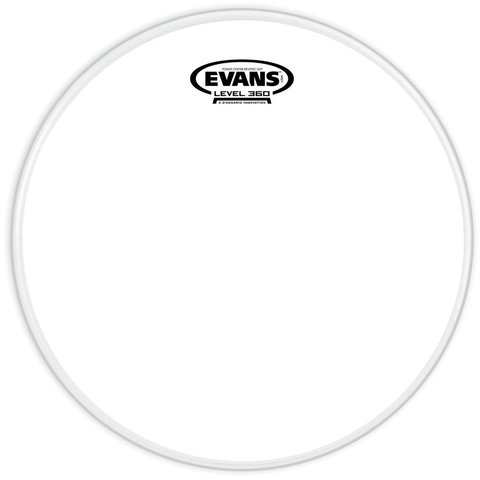 "Evans Power Center Reverse Dot Coated 10"" Drumhead"