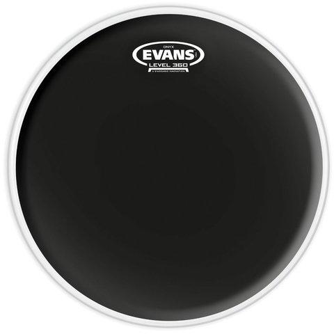 """Evans Onyx Coated 8"""" (2-Ply) Drumhead"""