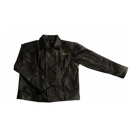Zildjian Zildjian Embroidered Logo Leather Jacket; XL
