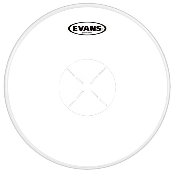 "Evans Evans Power Center Coated 13"" Drumhead"