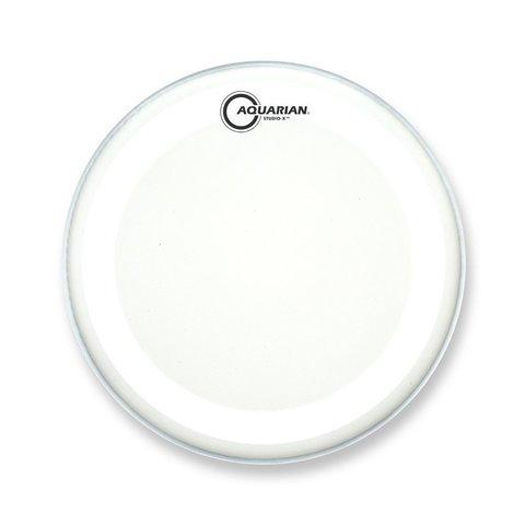 "Aquarian Studio-X Series Texture Coated 12"" Drumhead - White"