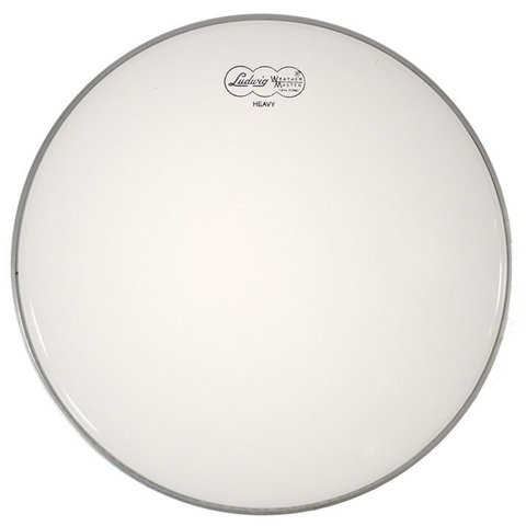 "Ludwig Weather Master Smooth White Heavy 10"" Batter Drumhead"