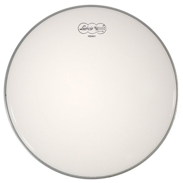 "Ludwig Ludwig Weather Master Smooth White Heavy 8"" Batter Drumhead"