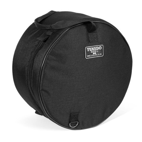 Humes and Berg 6.5X14 Tuxedo Padded Black Bag
