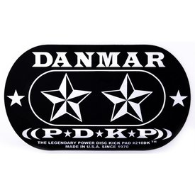 Danmar Danmar Double Kick Bass Drum Impact Pad- Stars Graphic