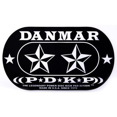 Danmar Double Kick Bass Drum Impact Pad- Stars Graphic