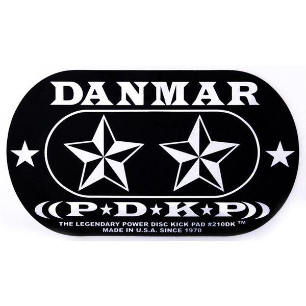 Danmar Danmar Double Kick Bass Drum Impact Pad- Stars Graphic