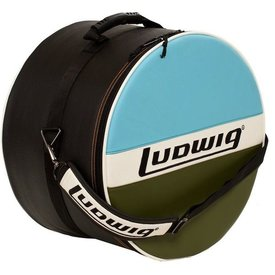 """Ludwig Ludwig Atlas Classic 16""""x16"""" Floor Tom Bag with Classic Blue/Olive Style"""