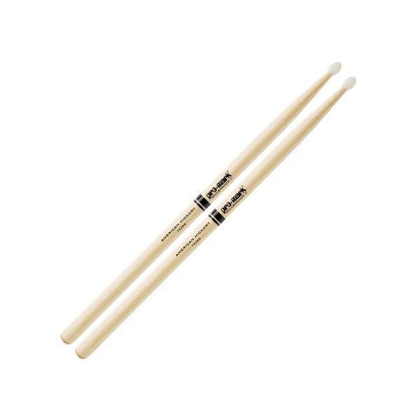 Promark Hickory 2B Nylon Tip Drumsticks