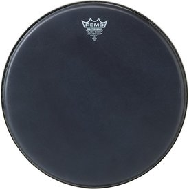 "Remo Remo Black Suede Ambassador 20"" Diameter Bass Drumhead"