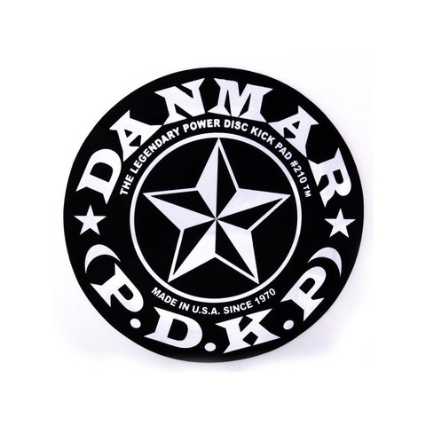 Danmar Bass Drum Impact Pad - Stars Graphic