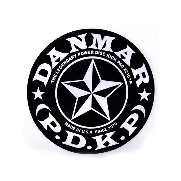 Danmar Danmar Bass Drum Impact Pad - Stars Graphic